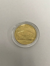 2005 D Gold Plated West Virginia State Quarter UNC FREE Capsule FREE SHI... - $4.71