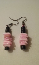 Artisan Crafted Handmade Pink Natural Shell Bla... - $2.69