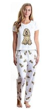Dog Cocker Spaniel pajama set with pants for women - $35.00