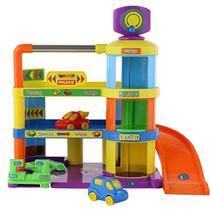 Polesie & Wader Quality Toys My First Car Vehicle Parking Lot Garage Tower Plays
