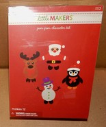 Christmas Kids Craft Kits You Choose Little Makers Pom Pom Kits Holiday ... - $6.49