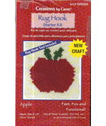 Latch Hook Rug Starter Kit Apple Creations by Caron - $3.95