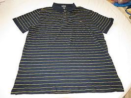 Mens Polo Jeans Co Ralph Lauren short sleeve Polo XL navy striped Shirt ... - $45.53