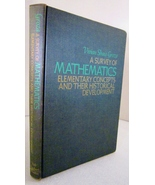 A Survey of Mathematics 1968 Virginia Shaw Groza, First Edition - $30.00
