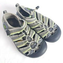 Keen Newport H2 Water Sport Sandals 2 US 34 EU Boys Girls Gray Waterproof  - $29.69