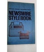 UPI Newswire Stylebook 1971 United Press International - $10.00