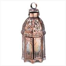 Copper Moroccan Candle Lamp - $18.34