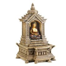 GOLDEN BUDDHA TEMPLE FOUNTAIN - $50.26