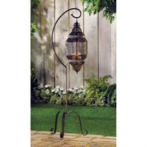 Moroccan Candle Lantern Stand - $35.05
