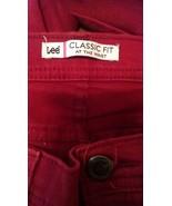 Women's Lee classic fit red jeans sz 12medium sec480 - $15.90