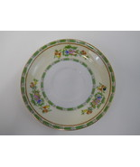 Vintage Coffee Cup Saucer Meito China Hand Painted Grafton Made in Japan - $2.90