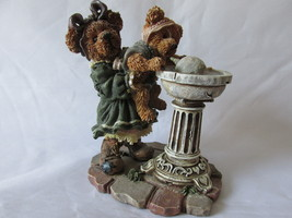 "Boyds Bears and Friends Bearstone Collection Figurine - ""Sissie & Squirt"", 1999 - $9.99"