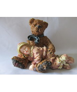 "Boyds Bears Yesterday's Child Figurine - ""Shelby...Asleep In Teddy's Arm... - $9.99"