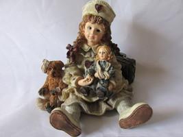 """Boyds Bears Yesterday's Child Figurine - """"Katherine with Amanda & Edmund... - $9.99"""
