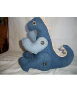 Denim T-Rex Dinosaur - $70.00