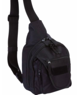 Concealed Carry Black Polyester Sling Pack Back... - $39.99
