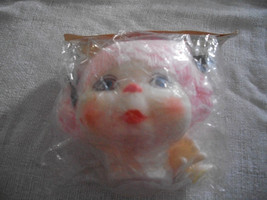 Darice Kids Doll Head with Pink Yarn Hair - $7.00