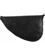 Classic Safari Tooled Black Leather Pistol Rug - $34.99