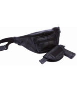 "Embassy Concealed Carry 20"" Black Leather Waist... - $37.99"