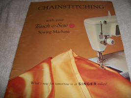Vintage Touch & Sew Singer Sewing Machine Manuals - $31.66 CAD
