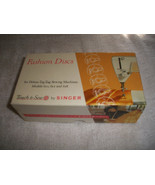 Singer Touch & Sew Fashion Discs in Box - $35.00