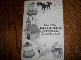 Make It With Milk and Cream Cartons Book - $5.00