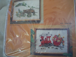 Crewel Embroidery Kit: Comes with Yarn, Canvas, Directions - $45.00