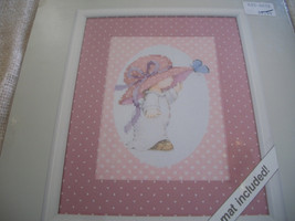 Madame Butterfly Cross Stitch Kit: Comes with Fabric, Floss, Mat & Direc... - $12.00