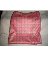 Vintage Pink with Gray Accents Polyester Knit Fabric - $14.00