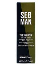 Seb Man The Groom Hair and Beard Oil, 1.01 oz