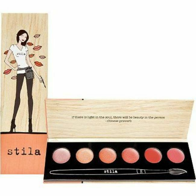 Primary image for Stila Portrait of a Perfect Pout Neutral Lip Palette 6 Shades New $36 Value