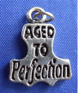 Aged To Perfection Birthday Sterling Silver Bra... - $8.90