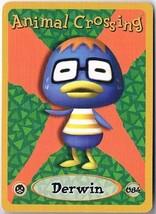 Derwin 084 Animal Crossing E-Reader Card Nintendo GBA - $9.89