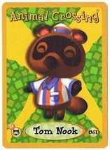 Tom Nook 061 Animal Crossing E-Reader Card Nintendo GBA - $9.89