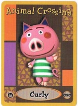 Curly 090 Animal Crossing E-Reader Card Nintendo GBA - $9.89