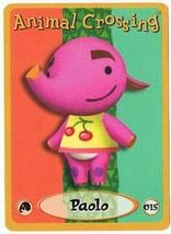 Paolo 015 Animal Crossing E-Reader Card Nintendo GBA - $9.89