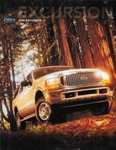 2000 Ford EXCURSION sales brochure catalog 00 US XLT Limited - $8.00