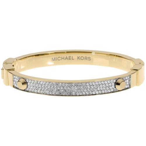 e692dfcc4842 Nwt Michael Kors Gold Tone Crystal Pave and 50 similar items. Mkj1975710