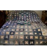 Denim Quilt Blanket - $340.00