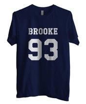 Brooke 93 Men Tee Navy - $18.00