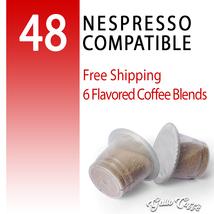 48 Nespresso Pods Ginger&Honey Chocolate Cappuccino Ginseng Vanilla Crem... - $25.90