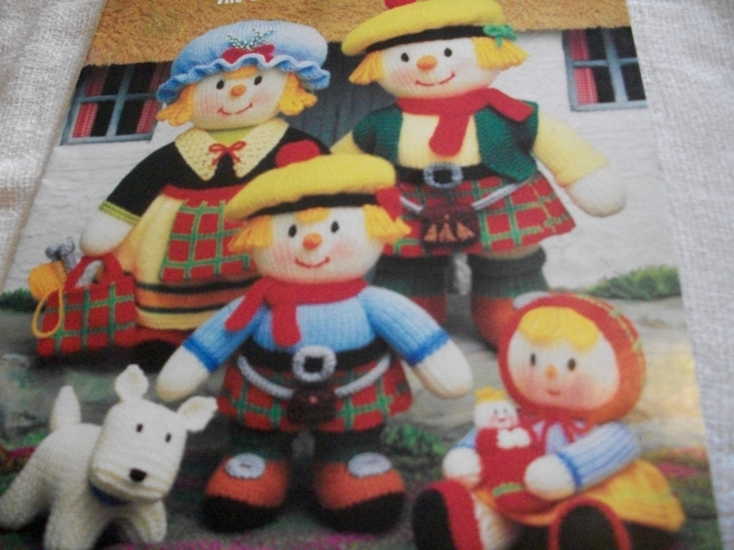 Primary image for Knitted MacScarecrow Clan Pattern: The Scottish Scarecrow Family