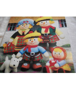Knitted MacScarecrow Clan Pattern: The Scottish Scarecrow Family - $14.00