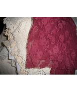 Vintage Flat Lace Remnant Lot - $10.00