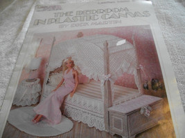 Fashion Doll Bedroom In Plastic Canvas Pattern Book - $15.00