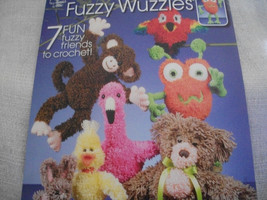 Crochet Fuzzy Wuzzies Book - $10.00