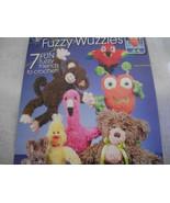 Crochet Fuzzy Wuzzies Book - $10.00