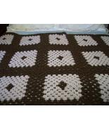 Brown Crochet Afghan - $45.00