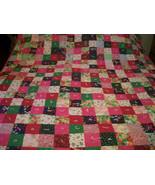 Pink Patchwork Quilt - $390.00
