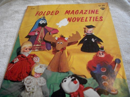 Folded Magazine Novelties Craft Book - $7.00